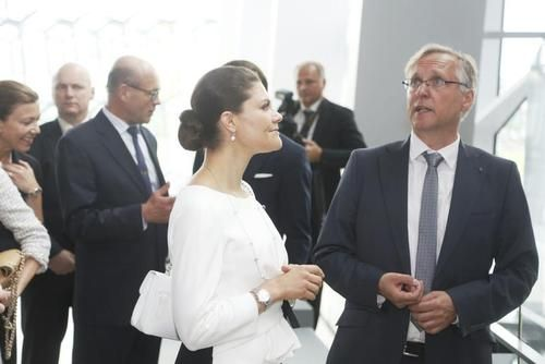 Crown Princess Victoria and Prince Daniel  Visit Iceland Day - 1
