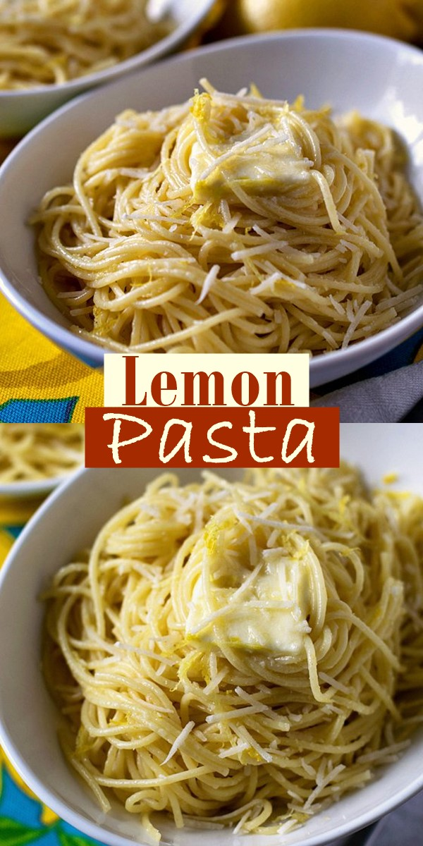Lemon Pasta #pastarecipes