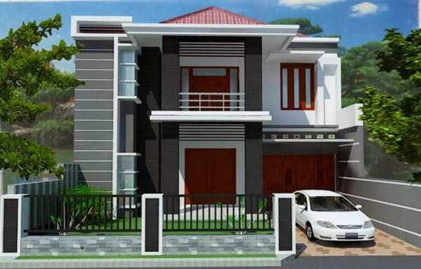 Model Rumah Minimalis 2 lantai masa kini