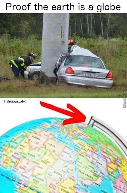 Funny Proof the Earth is a Globe Picture
