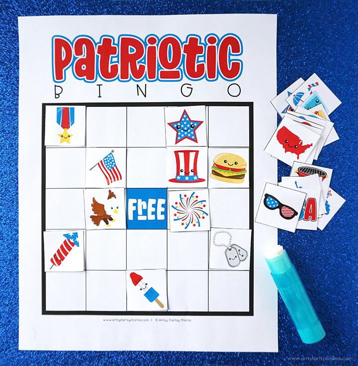 Free Printable Patriotic Bingo