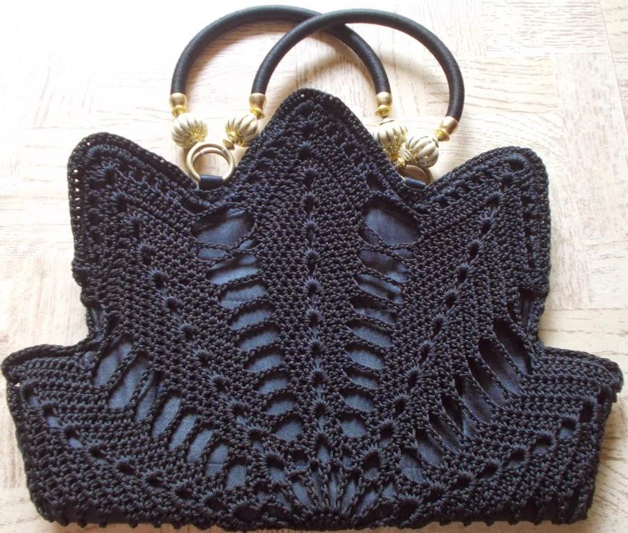 free crochet bag pattern, free crochet purse pattern, free crochet motif pattern, free crochet doily pattern, free crochet doily inspired bag pattern