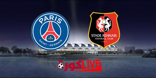 مباراة باريس سان جيرمان ورين بتاريخ 18-08-2019 الدوري الفرنسي