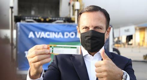 A vacina Coronavac não é adequada para pandemia, a culpa é do Bolsonaro???