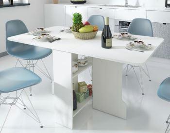 Bàn ăn thông minh và ghế Eames là sự kết hợp tuyệt vời