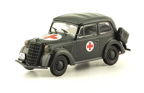 OLYMPIA TYPE 13237 1:43, voitures militaires de la seconde guerre mondiale