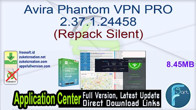 Avira Phantom VPN PRO 2.37.1.24458 (Repack Silent)