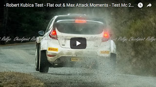 Robert Kubica Test - Flat out & Max Attack Moments - Test Mc 2015