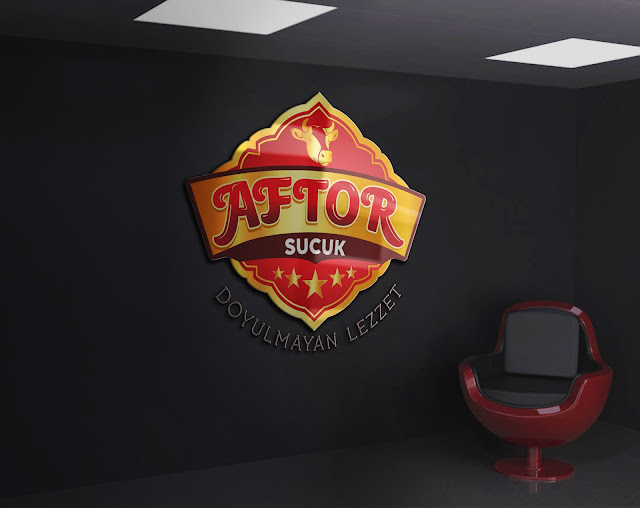 Sucuk, Köfte, Kavurma, Firma Logo Tabela Tasarımı