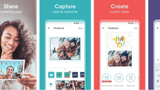 Aplikasi Touchnote