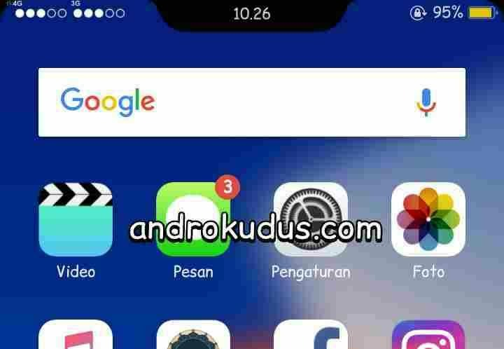 download theme iphone x for oppo a83