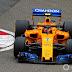 Mclaren afirma que o seu verdadeiro carro de 2018 vai estrear no GP da Espanha