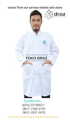 harga pembuatan baju laboratorium pria tahun 2019
