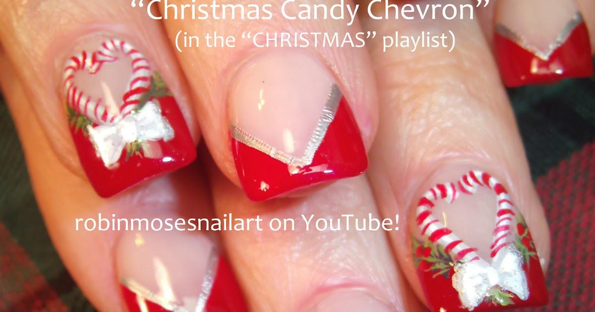 """Robin Moses Nail Art: """"christmas nails"""" """"cute christmas ..."""