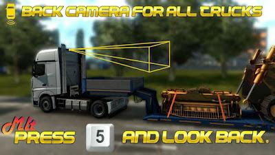 Back Camera For All Truck 1.39 (Rear Camera)