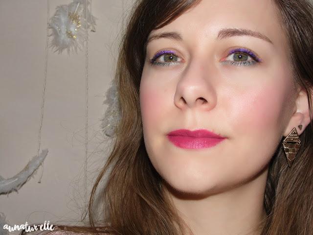 maquillage yeux verts naturel