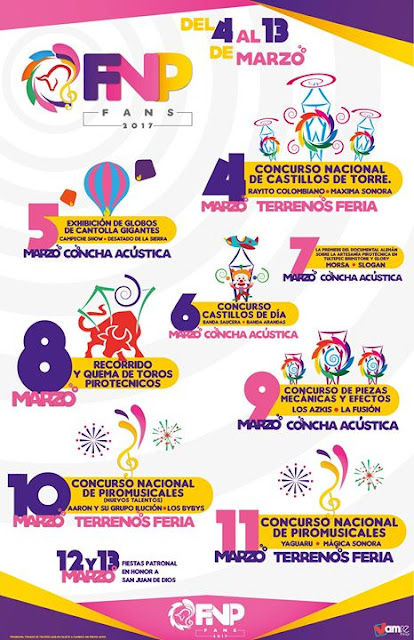 programa feria pirotecnia tultepec 2017