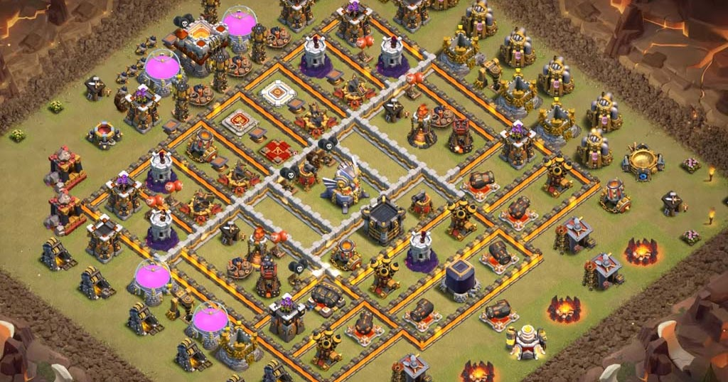 Base Th11 - War / Legendary league #544 - Canal Clash of Clans