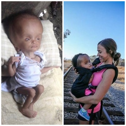 ↓↓↓ VIDEO ↓↓↓: She finds this abandoned baby on a