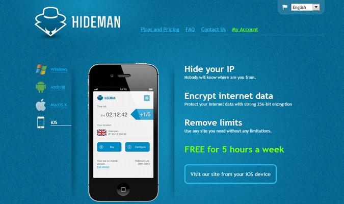 Buka Pembatas pada Media Sosial - Hideman VPN