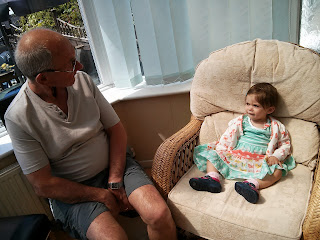 Granddad and me