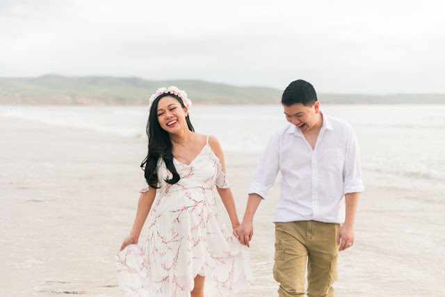 Beach Setting Maternity Photoshoot in South Australia