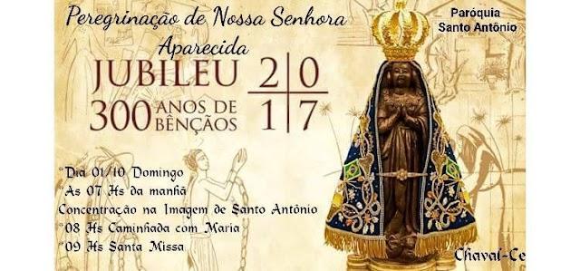 Paróquia convida a população para receber a imagem de Nossa Senhora Aparecida