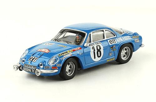 collezione rally monte carlo Alpine- Renault A110 1800 1973 Jean-Claude Andruet - Biche