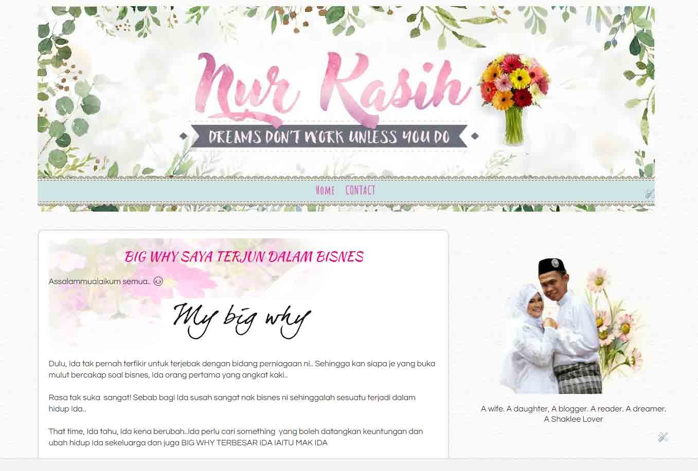 Nur Kasih Blog
