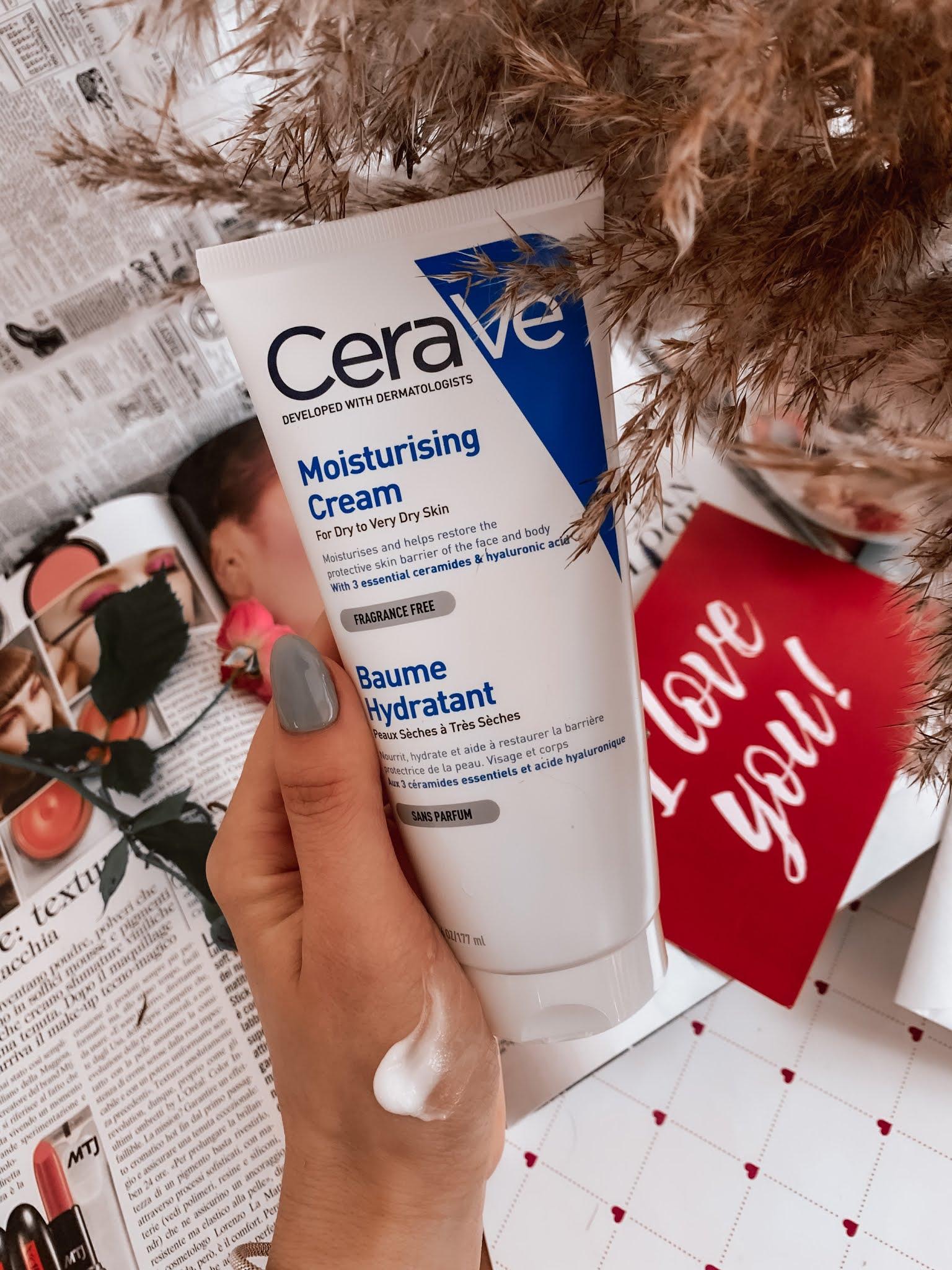 Увлажняющий крем для сухой кожи CeraVe