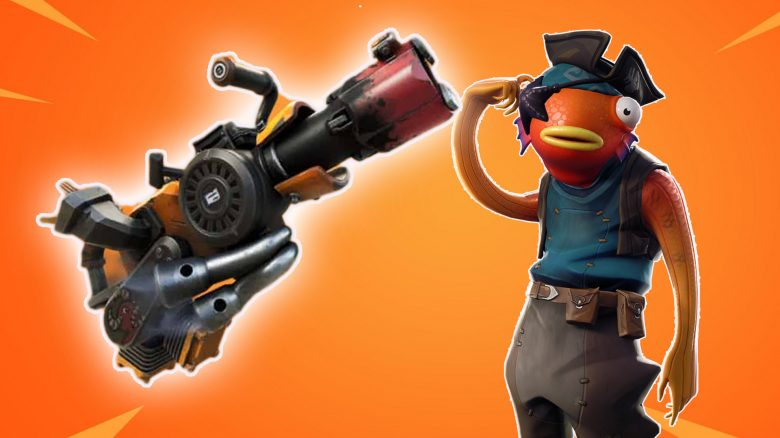 Apparently Fortnite gets 4 new weapons - one even shoots with garbage