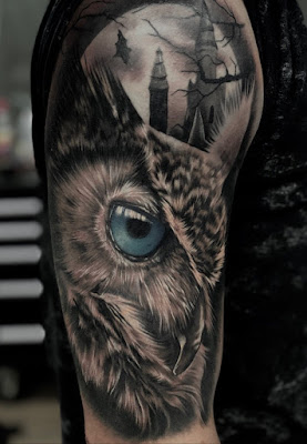 Is an Owl Tattoo bad luck?