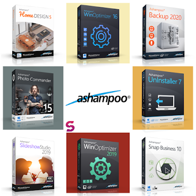 Get Ashampoo Giveaways of 9 Products