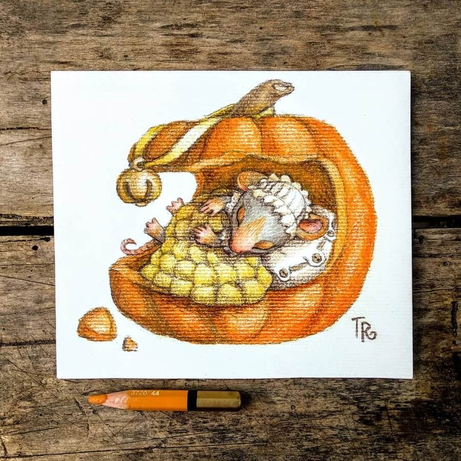11-The-little-cosy-pumpkin-bed-Tatyana-Romanova-www-designstack-co