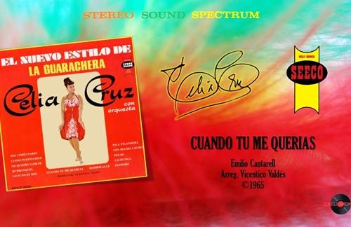 Cuando Tu Me Querias | Celia Cruz & La Orquesta De Vicentico Valdes Lyrics