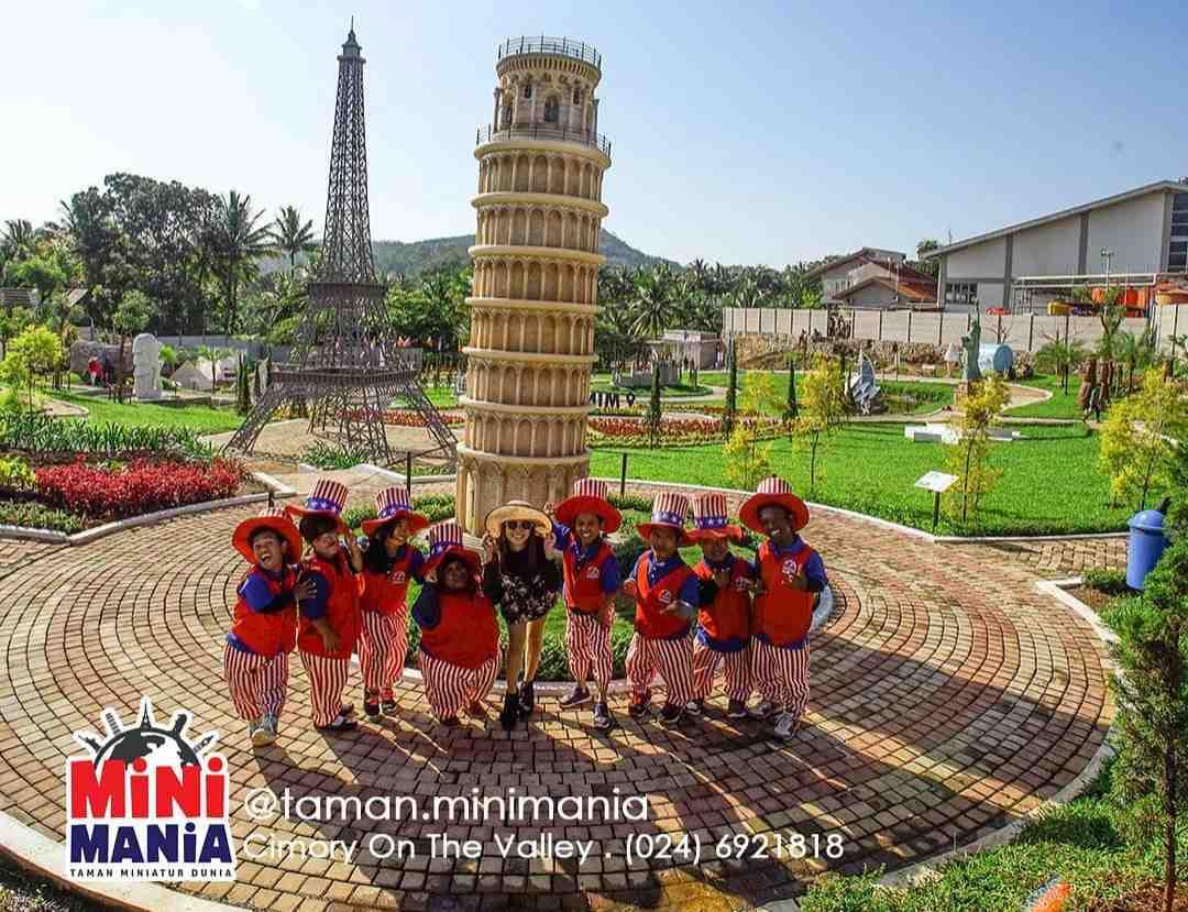 Taman Mini Mania Cimory Semarang - Gambar, Harga Tiket
