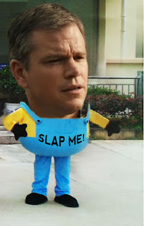 Who hasn't wanted to slap Matt Damon? Introducing Matt Damon Slap-O-Vision