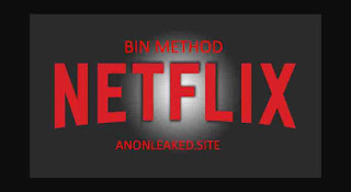 Netflix BIN Method Updated Payment (New and Working)