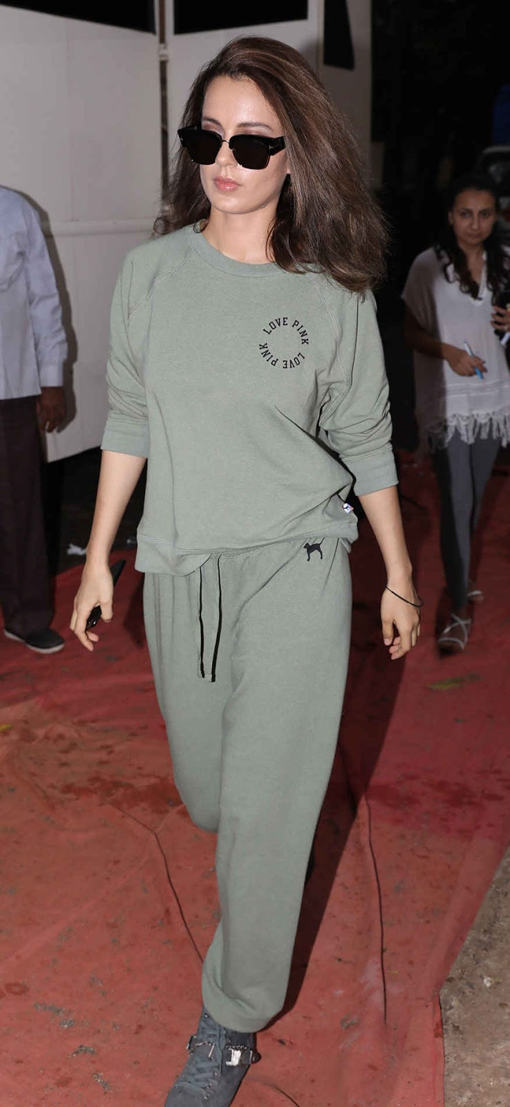 Bollyood Actress Kangana Ranaut at Bandra