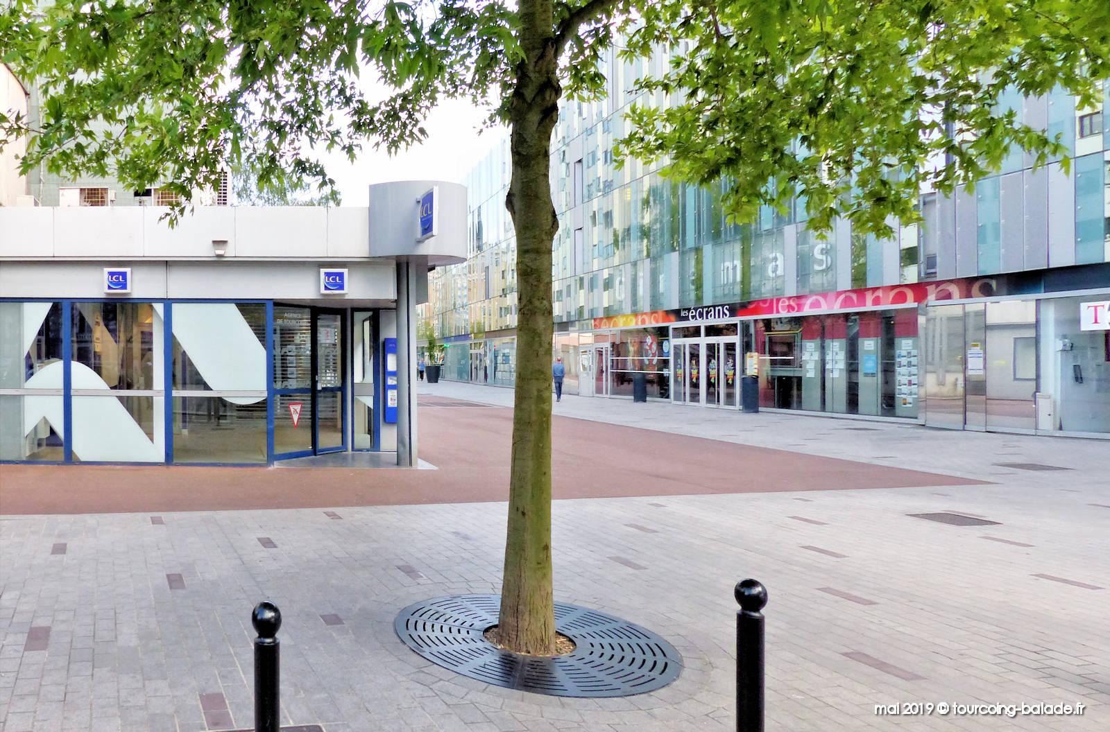 Promenade de la Fraternité, Tourcoing - LCL Banque