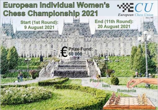 Championnat d'Europe d'échecs féminin 2021 - Photo © ECU