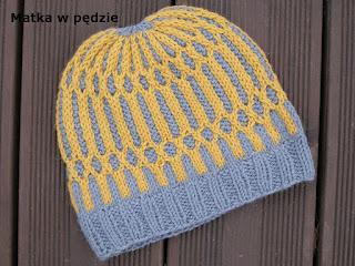 czapka ręcznie robiona