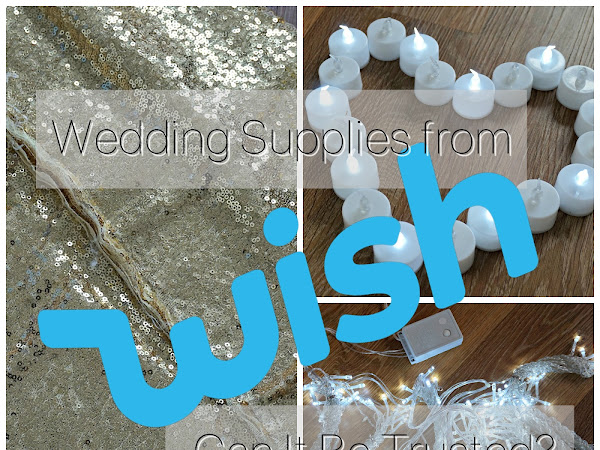 Wedding Supplies from Wish.com | Can It Be Trusted?