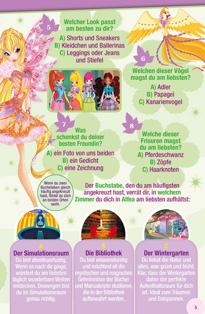New Winx Club Magazine Issue In Germany Winx Club All