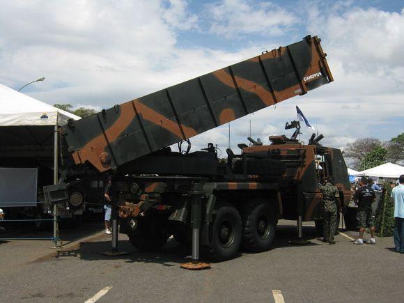 Sistem roket ASTROS II Brazil
