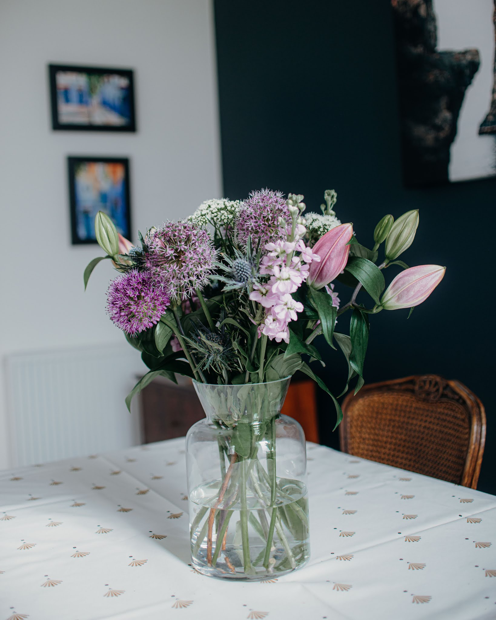 Freddie's Flowers - Paddington to Penzance Before and After liquid grain
