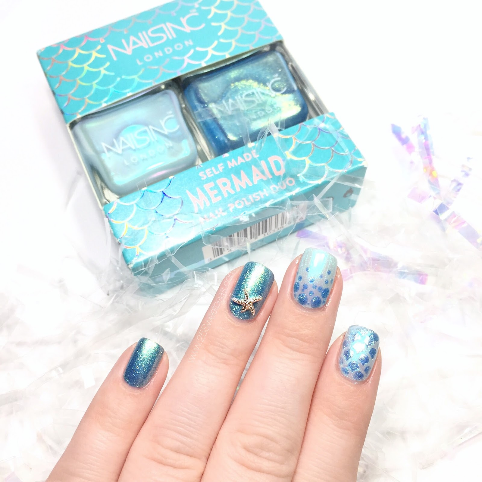Nails Inc Self Made Mermaid Duo