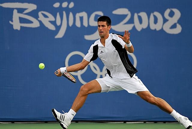 Novak Djokovic nunca foi campeão olímpico de simples