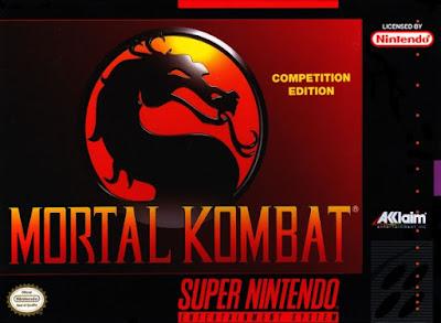 Mortal Kombat SNES Cover