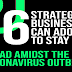 6 Strategies Businesses Can Adopt To Stay Ahead Amidst The Coronavirus Outbreak #infographic